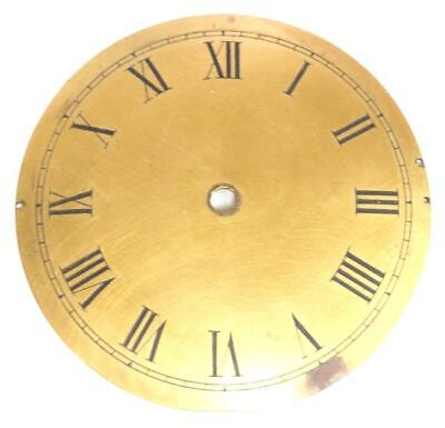 Brass clock Dial French Clock Dial Roman Numerals For Timepiece C1900 9cm