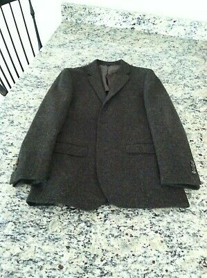 Brooks Brothers Milano Fit Multicolored Harris Tweed Sport Coat, 42 Long, New