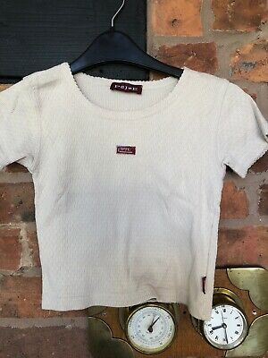 pampolina girls 100% Cotton T/shirt Size 128cm Age 7-8 Years Excellent Condition