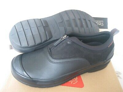 New Clarks Mucker Ruck Rain Water Proof Black Shoes Size 7