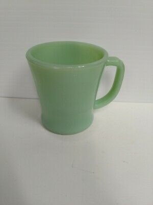 Vintage Fire-King jadeite restaurant oven ware mug cup D handle USA 4 Available