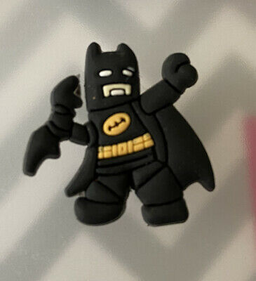 Crocs Jitbit Shoe Charm Decoration Accessory Lego Batman
