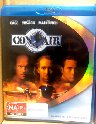 Con Air - BLU-RAY - FREE POST
