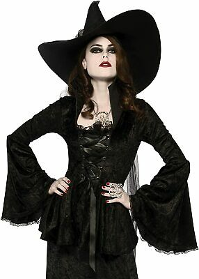 Smiffys Immortal Soul Vampire Witch Adult Womens Halloween Costume 43726