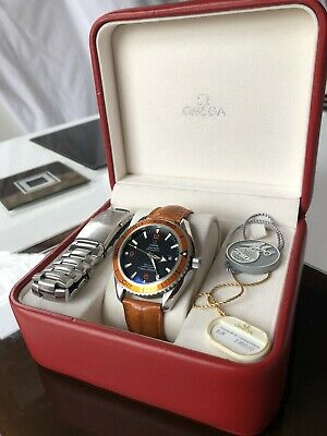 Omega Seamaster Planet Ocean 600m, Automatic, Co-Axial, 45.5mm, Box & Papers