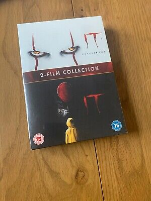 IT Chapter One & Two 1&2 (DVD) James McAvoy,Jessica Chastain,Bill Hader