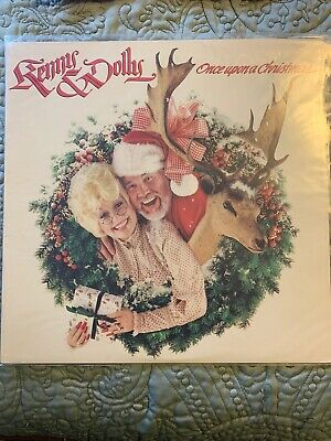 Kenny ROGERS & Dolly Parton once upon a christmas vinyl