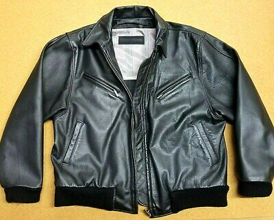 Porsche Exclusive Leather Jacket Classic Driver Style Lined Sz M Highest Quality