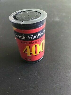 Seattle Film Works 35mm film one roll in unopened (sealed) canister. Exp 01/2000
