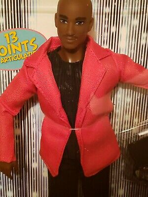 The Fresh Squad Dolls African American Anthony Doll, Bald Head,New In Box