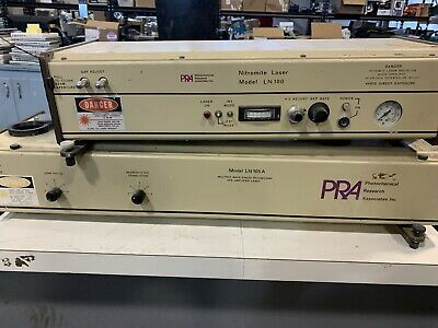 PRA LN100 Nitromite Laser, And LN105A Mult. Wave Picosecond Dye-Amp Laser MW