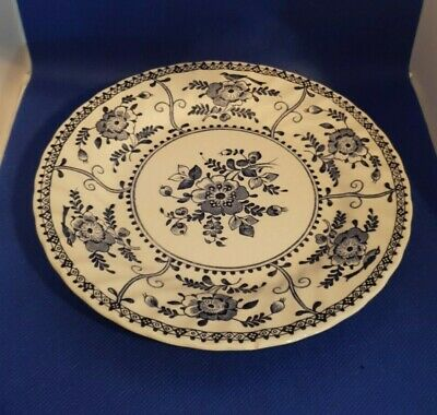 Beautiful, Collectable Johnson Brothers Blue & White Indies Side Plate W17cms