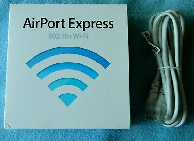 Apple Airport Express 802.11n Wi-Fi Base Station Model 1264 MB321LL/A - White