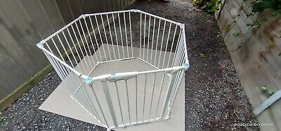 6-Panel Adjustable Baby Toddler Safety Playpen Pet Exercise Cage Multiple fence
