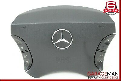 00-06 Mercedes W215 CL600 S600 S65 AMG Steering Wheel Air Bag Airbag Black OEM