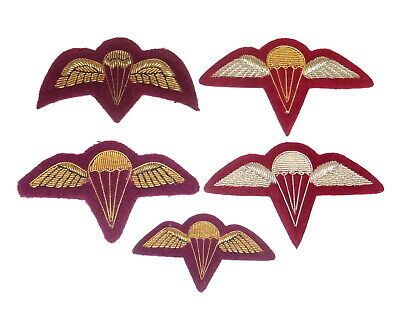Australian Army 3 RAR Airborne Parachute wing or Brevet collection of 5