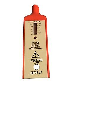 Foreign Voltage Detector - Model FVD -Telco Sales Inc. w/ Cap - Category IV