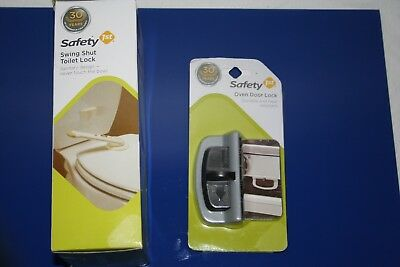 Safety 1st Toilet & Oven Door Lock set Home Children Toddler Security Free Ship
