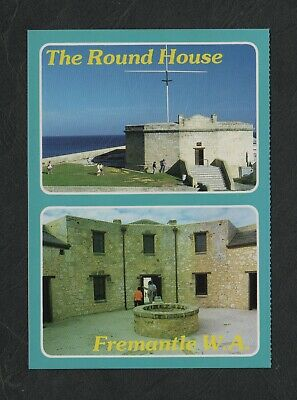 s440)   MULTI VIEW POSTCARD OF THE ROUND HOUSE FREMANTLE IN WESTERN AUSTRALIA