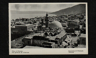s2389)   VINTAGE POSTCARD OF TIBERIAS A CITY  ON THE SEA OF GALILEE IN ISRAEL