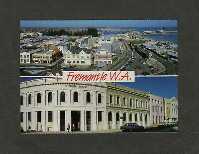 s1559)      1970's  POSTCARD VIEW  OF FREMANTLE IN WESTERN AUSTRALIA