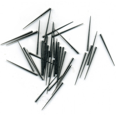 Steel Tapered Clock Pins (0.30 x 1.27 x 25.4mm) Clocks Pin Pack of 100 - CP11413