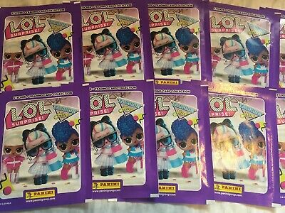 20 Packets Packs of LOL Surprise! Fashion Fun Sticker Collection PLEASE READ