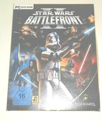 Star Wars Battlefront II (2) PC DVD-ROM in Deutsch Lucasarts