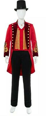 The Greatest Showman P.T. Barnum Cosplay Costume Uniform Outfit Hat xxl
