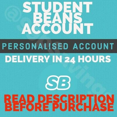 Student Account - Student Beans - 12 Month Full Access - Not Unidays  Cheapest!