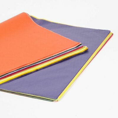 """240 Sheet Ream Top Quality Coloured Tissue Craft Coloured Paper 30"""" x 20"""""""