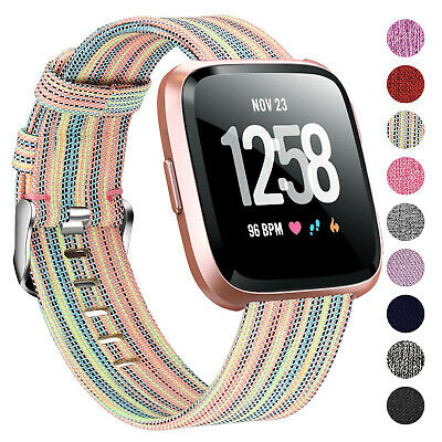 Replacement Woven Fabric Wrist Band Strap For Fitbit Versa 1 2 Versa Lite UK