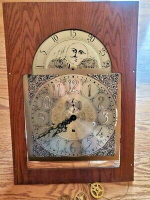 Complete Ridgeway Grandfather Clock Dial Face With Triple Chime Movement CR32685