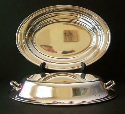 Gorham Silver Plate Covered Vegetable Serving Bowl With Handles YC426-4