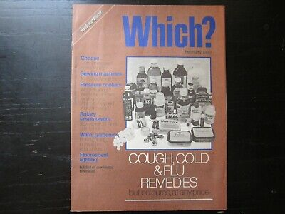 February 1980, WHICH? MAGAZINE, Sewing Machines, Pressure Cookers, Cheese.