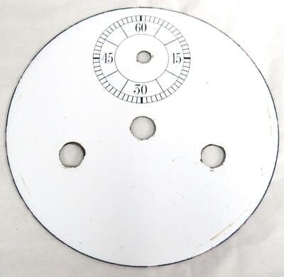 Enamel clock Dial German Vienna Wall Clock Inner Bezel Dial With Sub Seconds