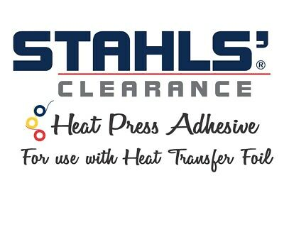 "11.8"" x 5 Yards - Stahls' Clearance HTV Adhesive - For use with Foils"