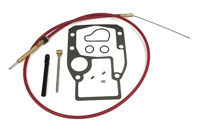 Lower Shift Cable Kit for Evinrude, Johnson, OMC & BRP 0987661, 0778040, 0986654