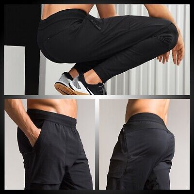 Nike Swift Flex Men/'s 3//4 Running Training Pants Trousers Black