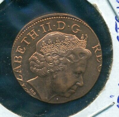 ND Great Britain 2 Pence Struck on Wrong Planchet Error Coin 3.55 Grams BU