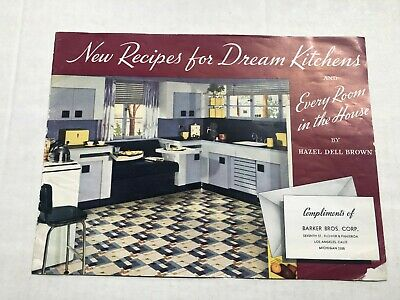 1941 Dream Kitchen Examples Catalog by Armstrong Linoleum
