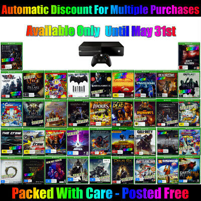 🎮 Xbox One ☞ Your Choice Of Awesome Games! ☜ All Brand New 23/05/20