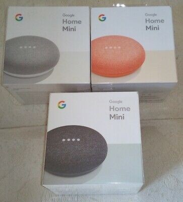 Google Home Mini Smart Speaker with Google Assistant ** Brand New **