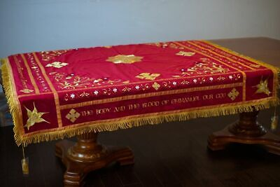 Holy table cover with embroidery orthodox Church (or coptic)