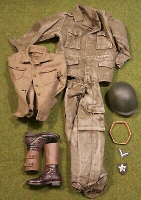 DID Ceinture WWII German Panzer Gunner-Ver B 1//6 Action Figure Toys