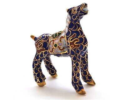 Vintage Chinese Cloisonne Horse. Hand Made Lovely Collectible