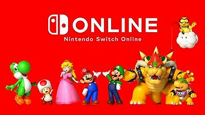 Nintendo Switch Online Membership 12 Months 1 Year Quick Email Delivery
