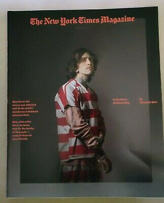 NEW YORK TIMES MAGAZINE, In The Ashes of Ghost Ship Max Harris Oakland Warehouse