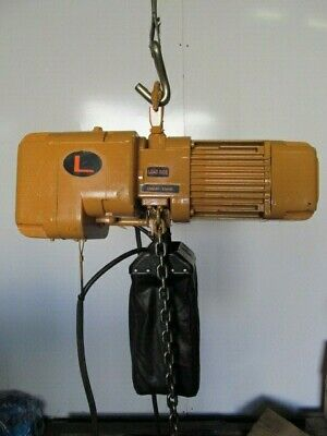 Harrington 1 Ton Electric Chain Hoist