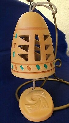 Southwest SANDSTONE CREATIONS...WIND CHIME...Hand-Crafted Ceramic...EUC
